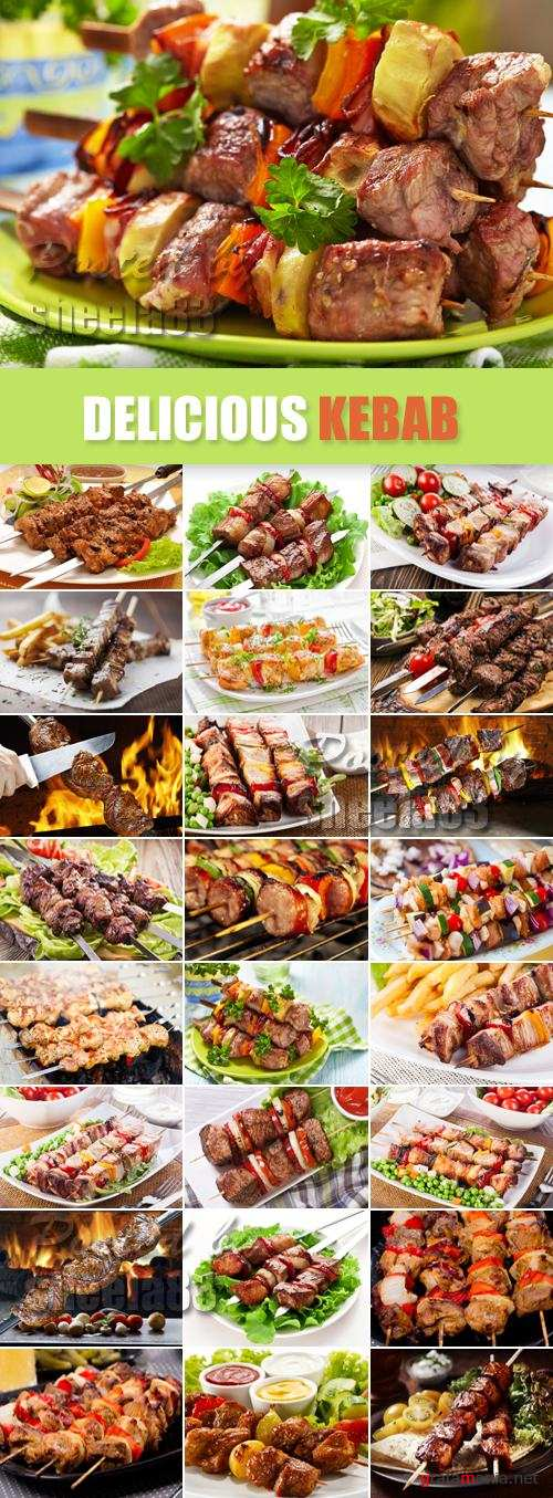 Stock Photo - Delicious Kebab