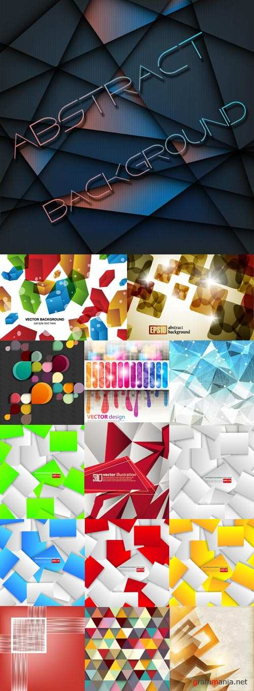 Exquisite abstract vector background