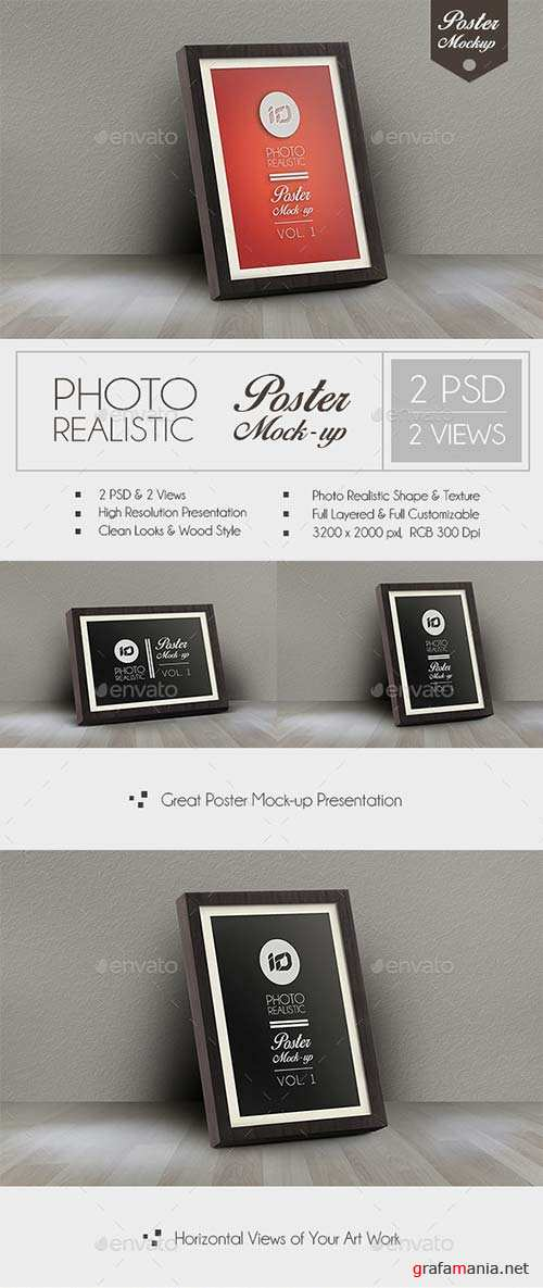 GraphicRiver Realistic Poster Mock-Up