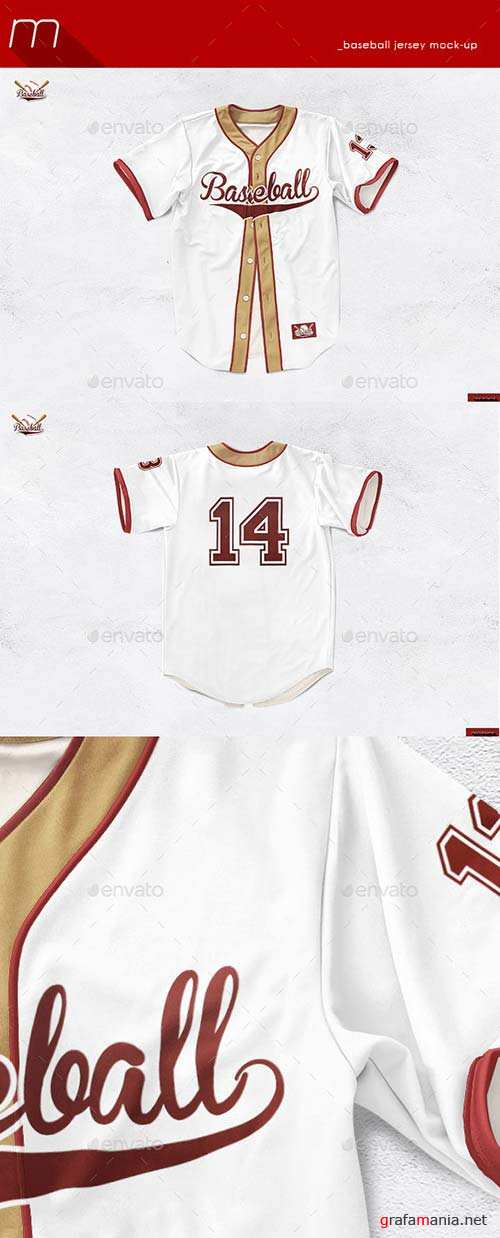 GraphicRiver Baseball Jersey Mock-Up