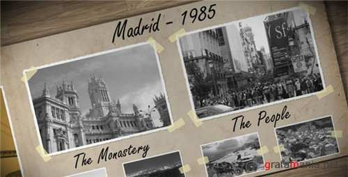 Old Photo Album - After Effects Project (Videohive)