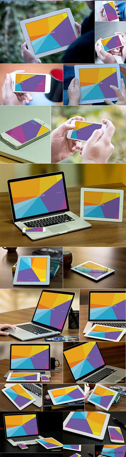 35 Apple Device Mockups - Zippypixels