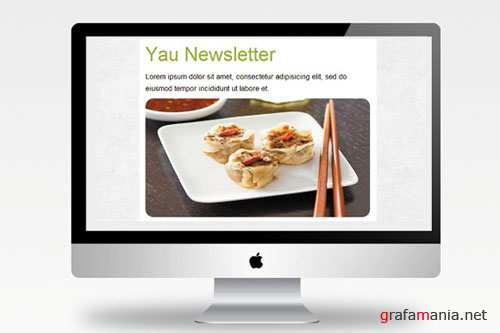 CreativeMarket - Yau Newsletter - Email template 2359