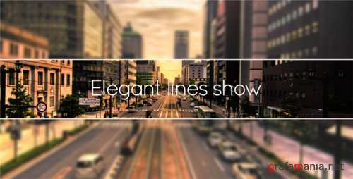 Elegant Lines Show - After Effects Project (Videohive)