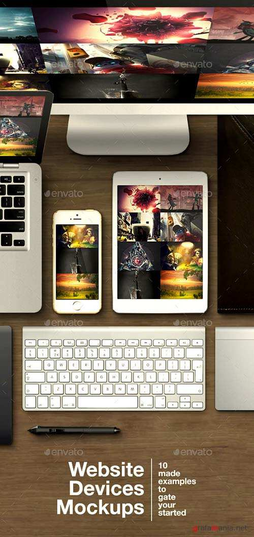 GraphicRiver Website Devices Mockups