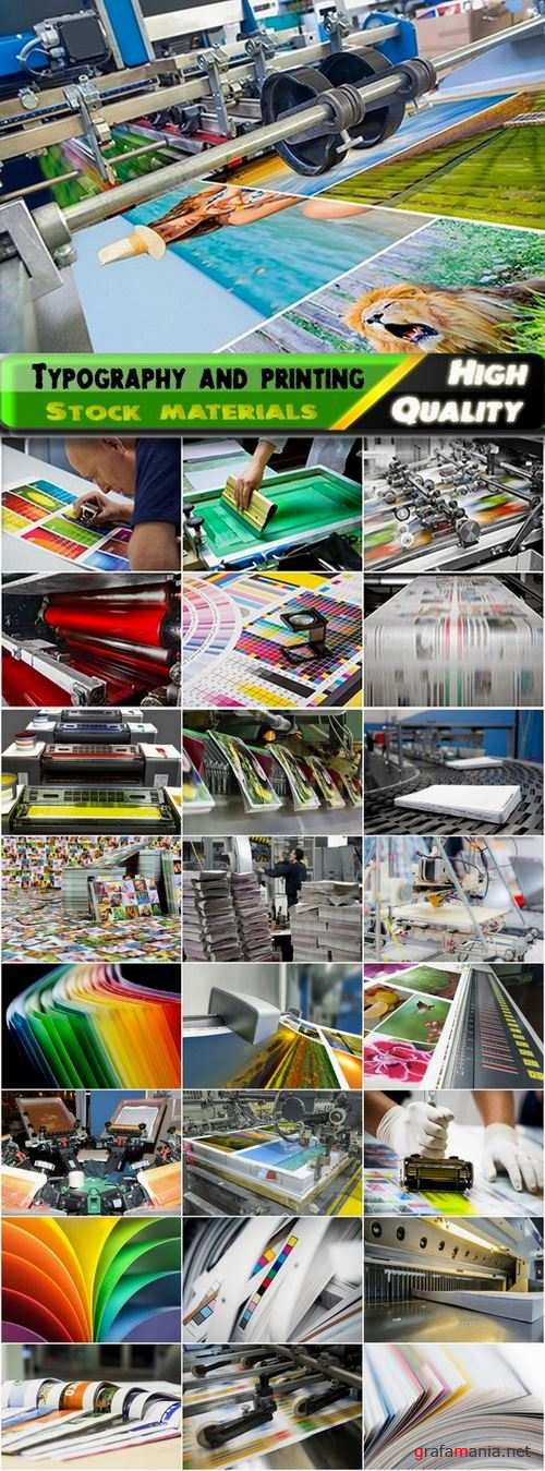 Typography and printing on paper Stock images - 25 HQ jpg