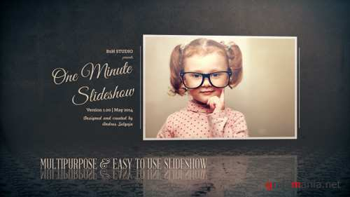 One Minute Slideshow - Project for After Effects (Videohive)