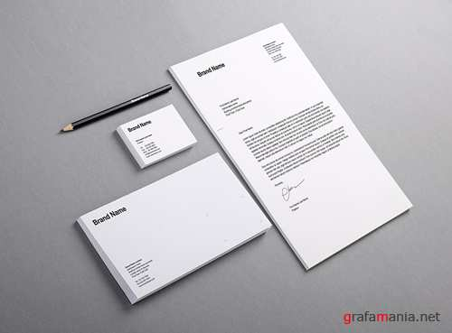 PSD - Branding Identity Mock-up