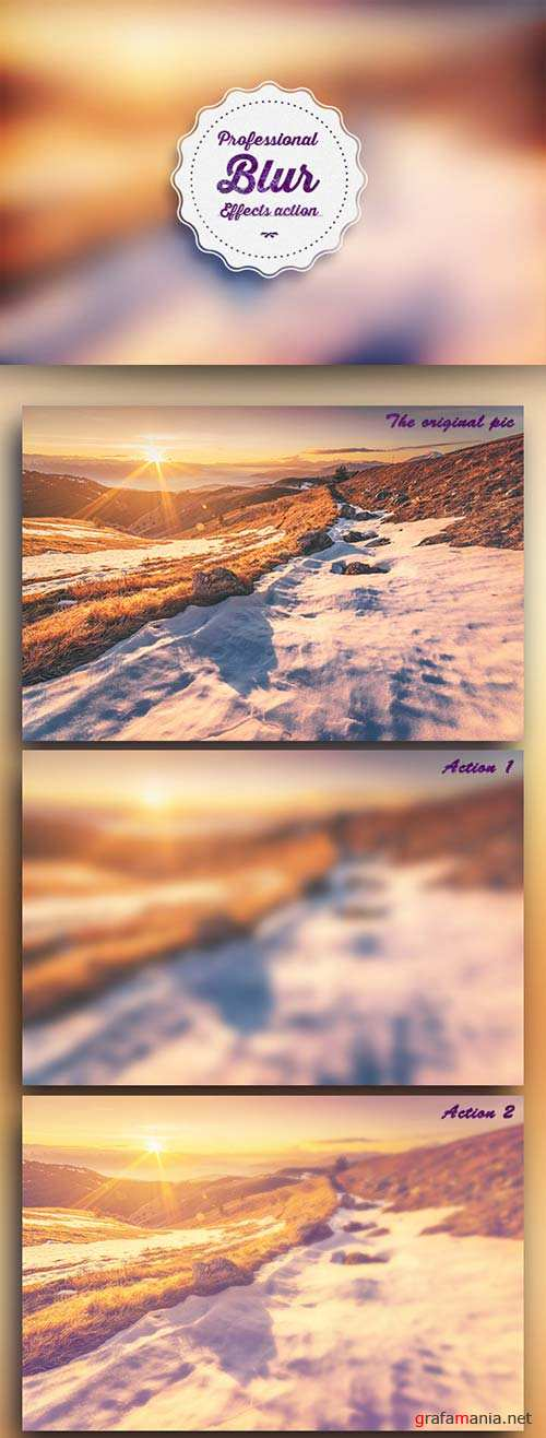 GraphicRiver Professional Blur Effects