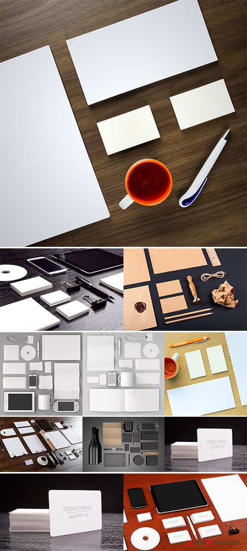 Stock Images Template for branding identity for graphic designers presentations and portfolios