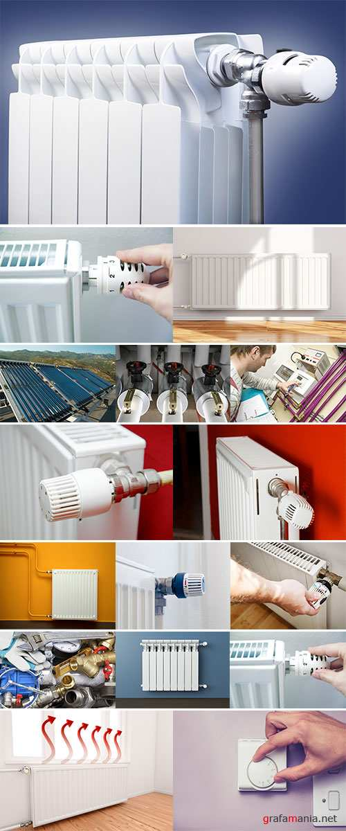 Stock Photo: Heating system