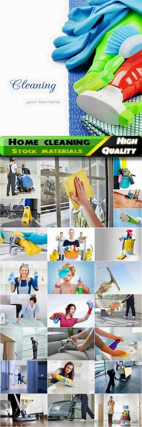 Home cleaning and office cleaning Stock images - 25 HQ Jpg