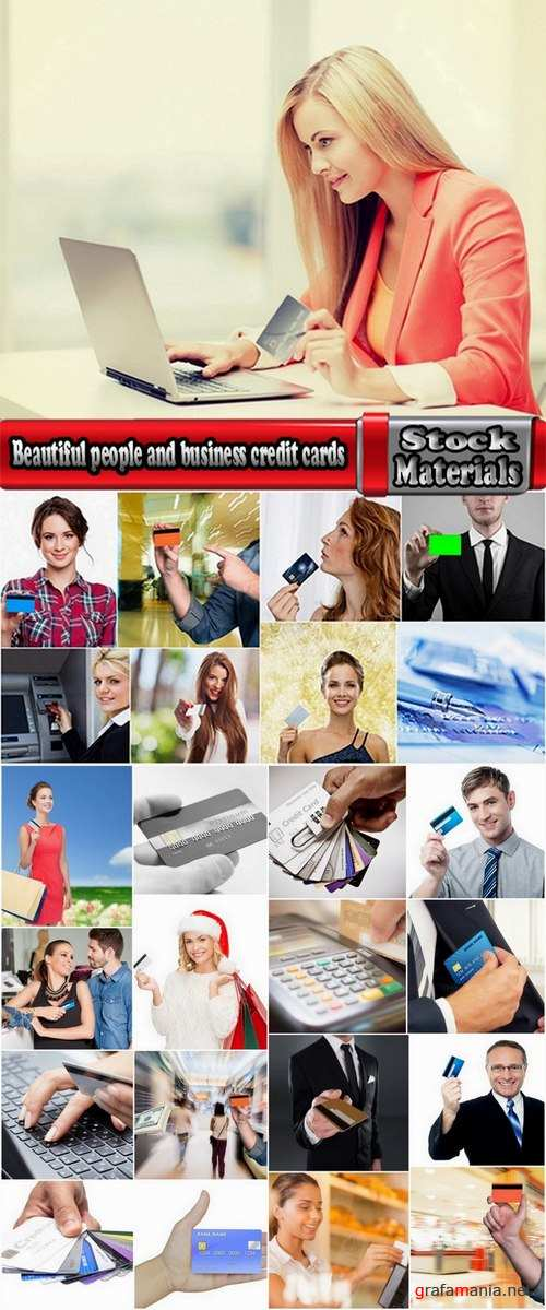 Beautiful people and business credit cards 25 UQ Jpeg