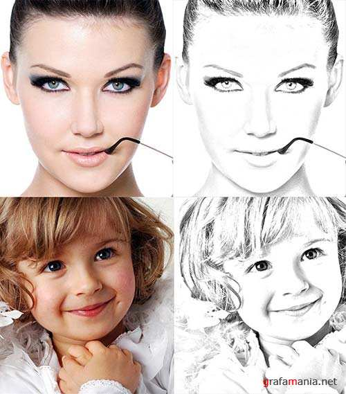 GraphicRiver Drawing effect
