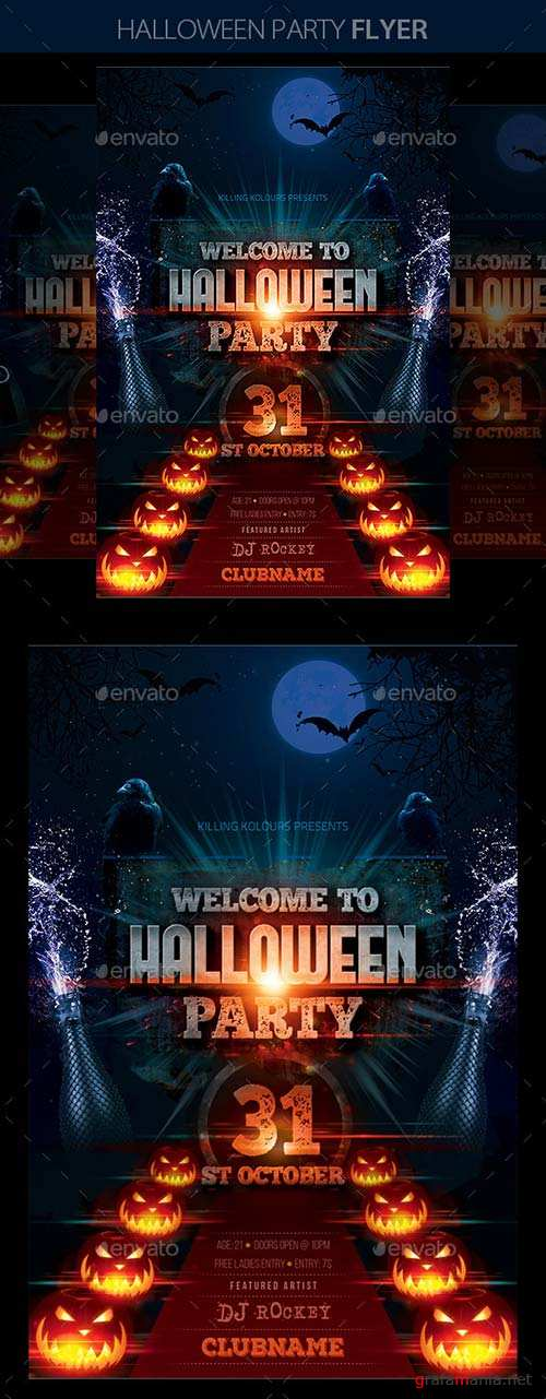 GraphicRiver Halloween Party 9017243