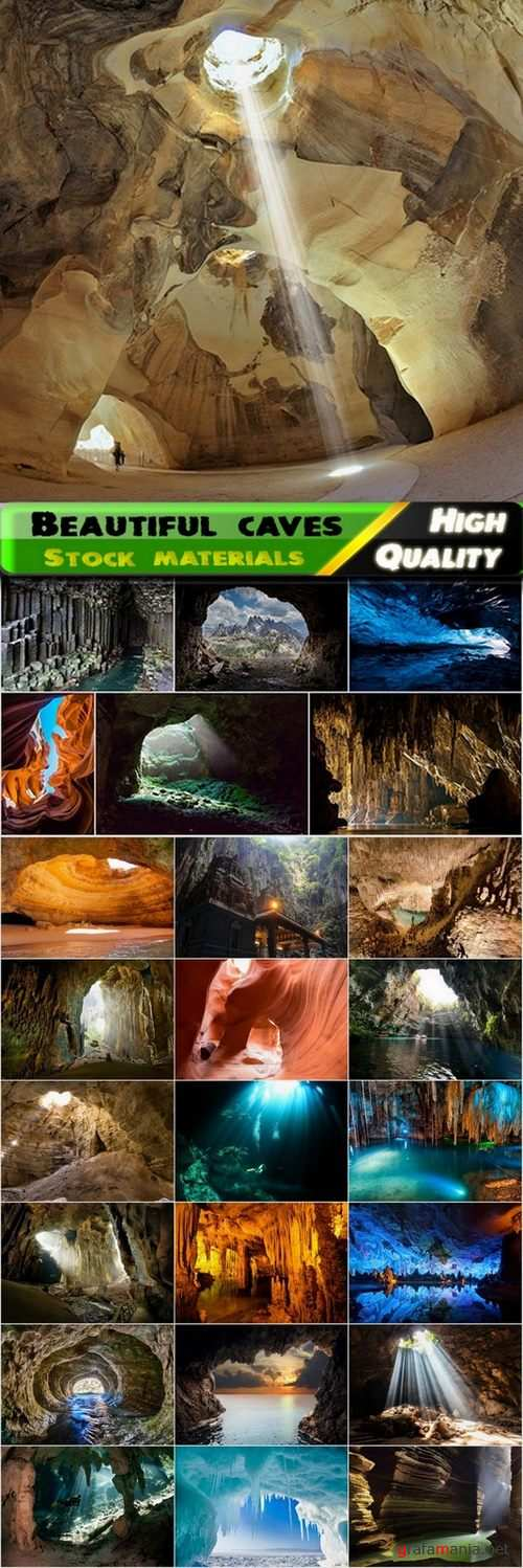 Inside a beautiful cave Stock images - 25 HQ Jpg