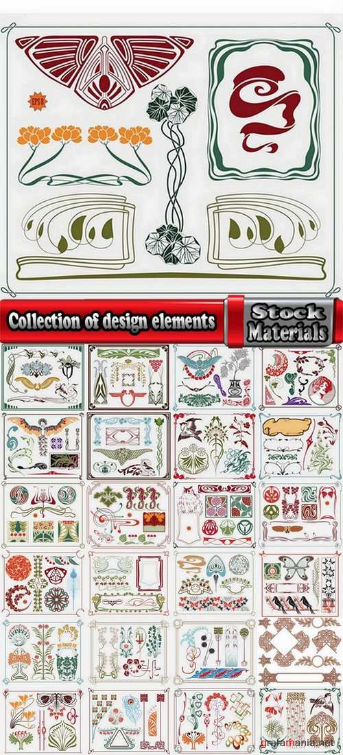Collection of design elements #2-25 Eps