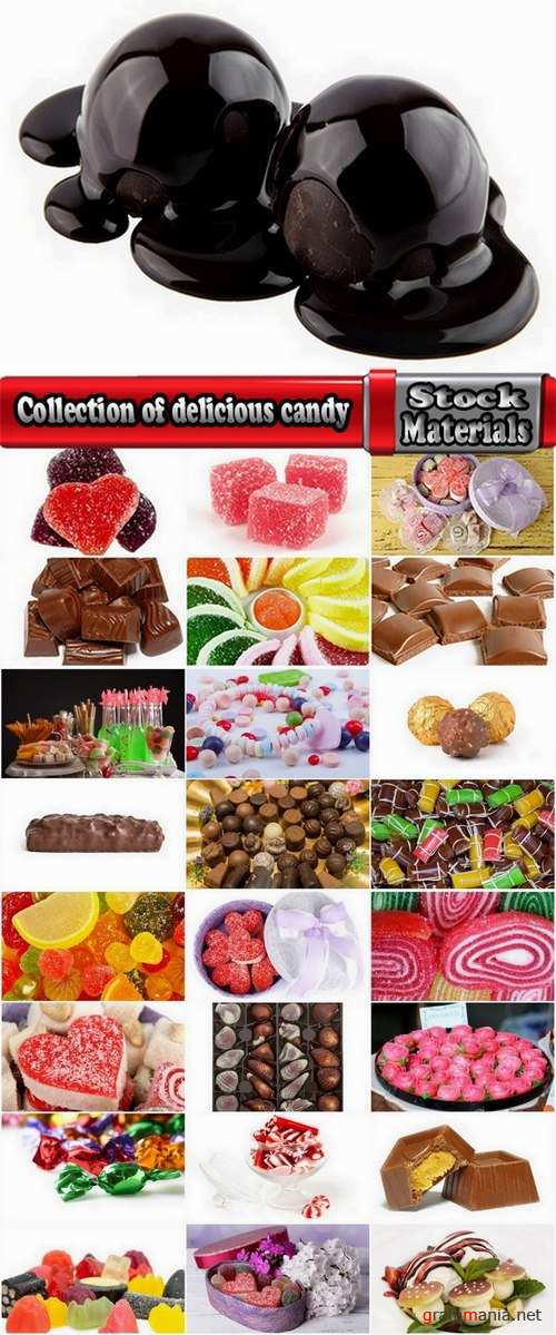 Collection of delicious candy 25 UHQ Jpeg