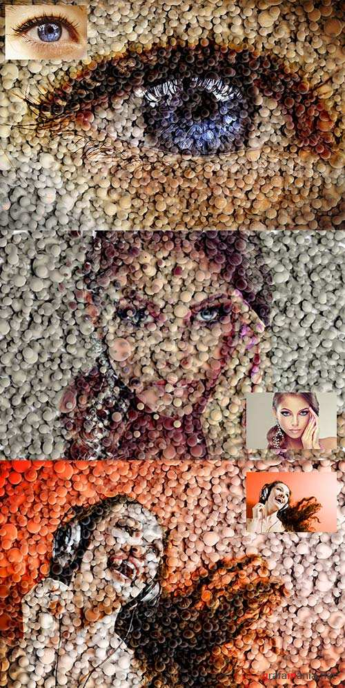 GraphicRiver 3D Mosaic
