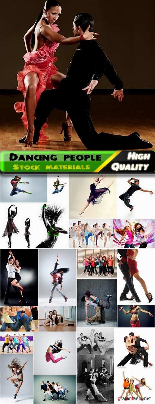 Dancing people Stock images - 25 HQ Jpg