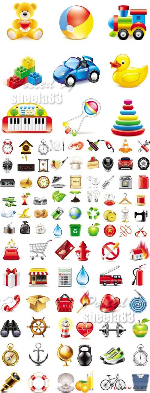 Various Icons Vector 2