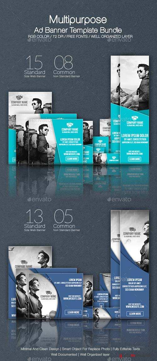 GraphicRiver Multipurpose Ad Banner Bundle