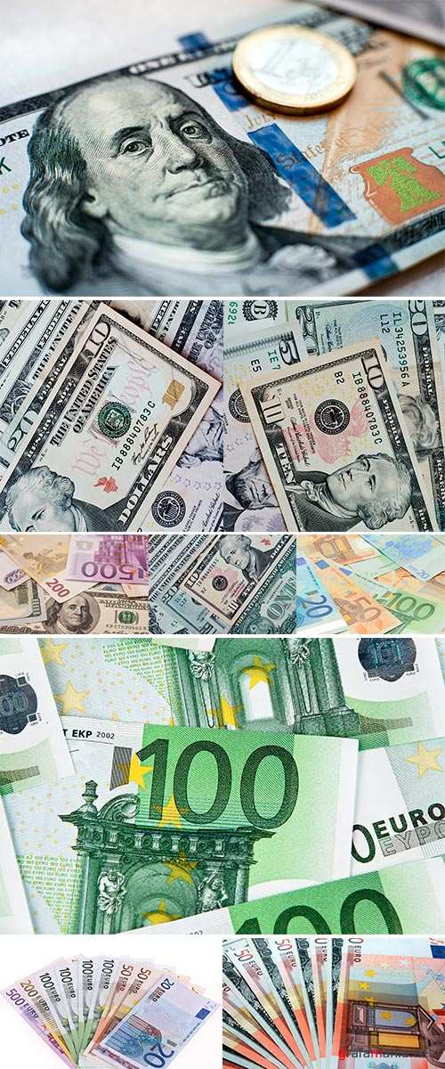 Stock Photos Colorful old World Paper Money background