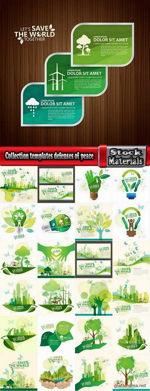 Collection templates defenses of peace 25 Eps