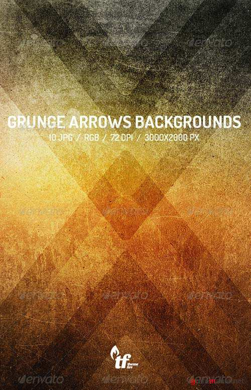 GraphicRiver Grunge Arrows Backgrounds