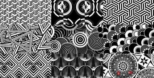 Art Deco Background Patterns 1 - After Effects Project (Videohive)
