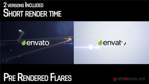 Elegant Streak Logo Reveal 2 - After Effects Project (Videohive)
