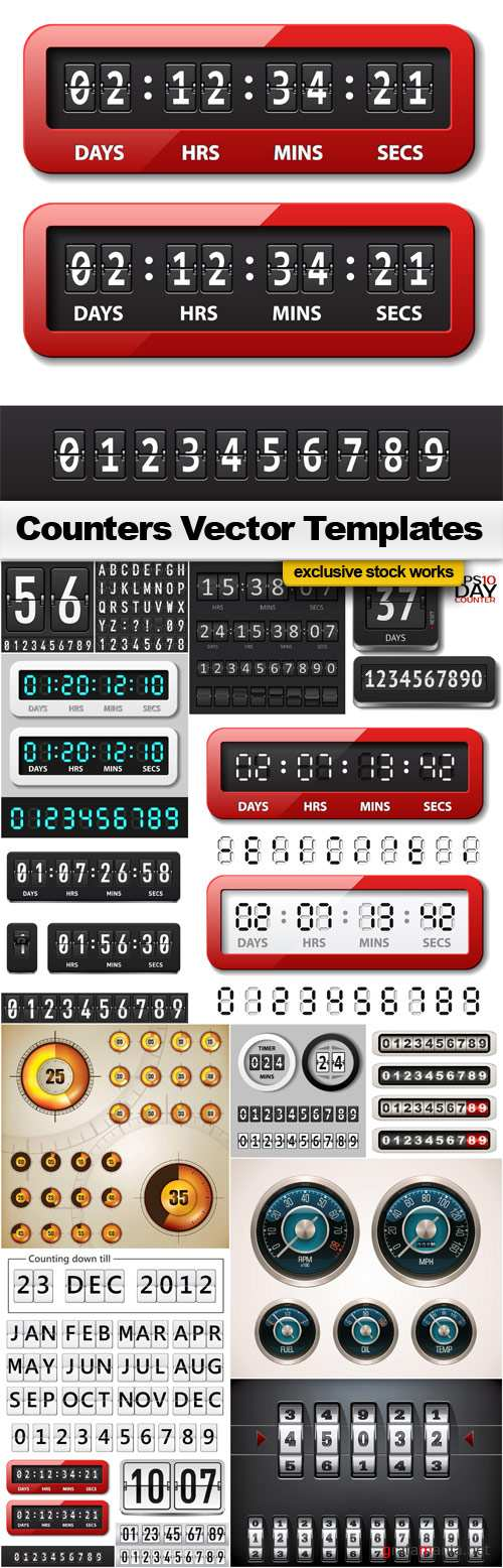 Vector Counters Templates