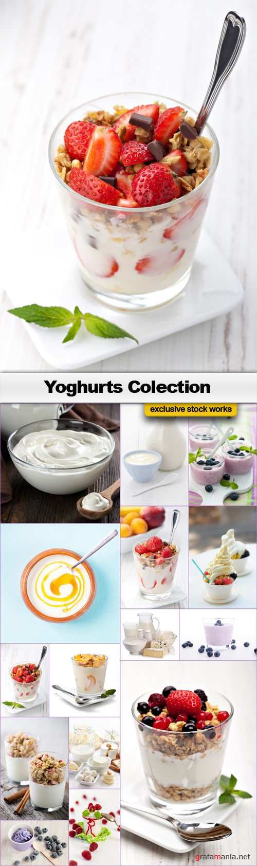 Yoghurts Collection