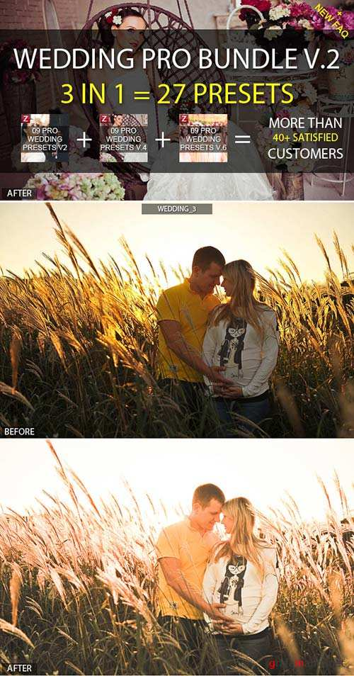 GraphicRiver 3-in-1 Pro Wedding Bundle vol.2