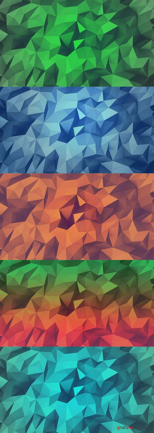 21 Low Poly Backgrounds