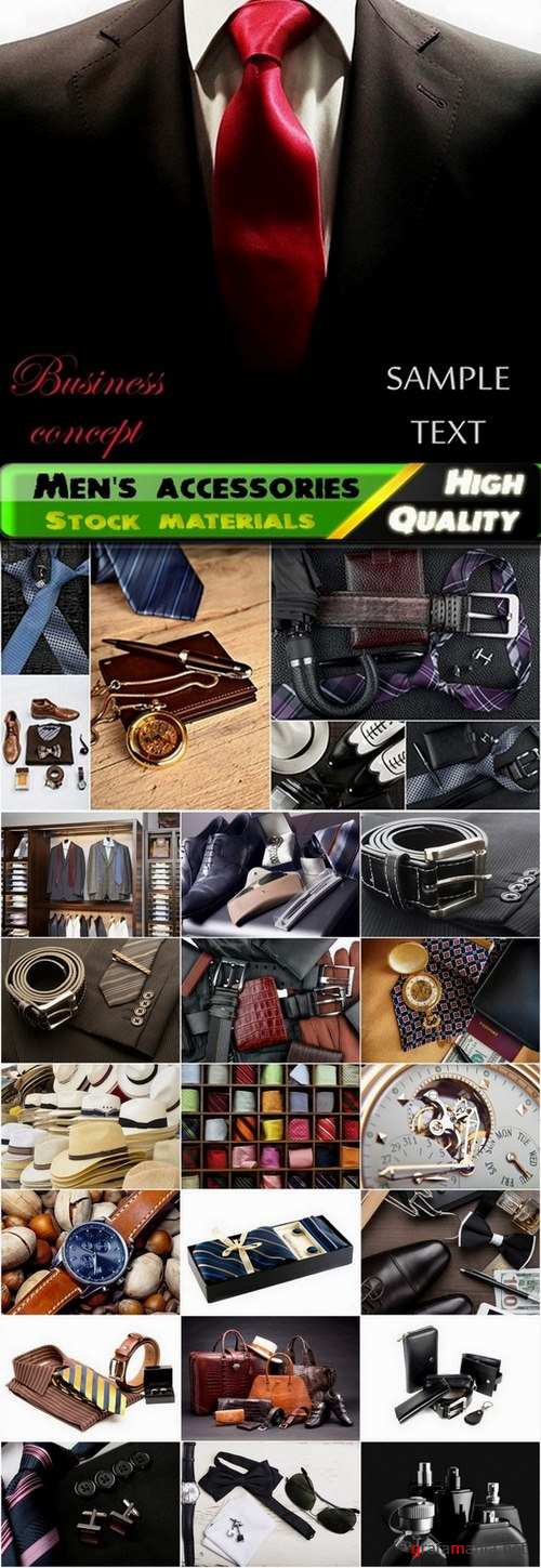 Men's accessories and clothes Stock images - 25 HQ Jpg