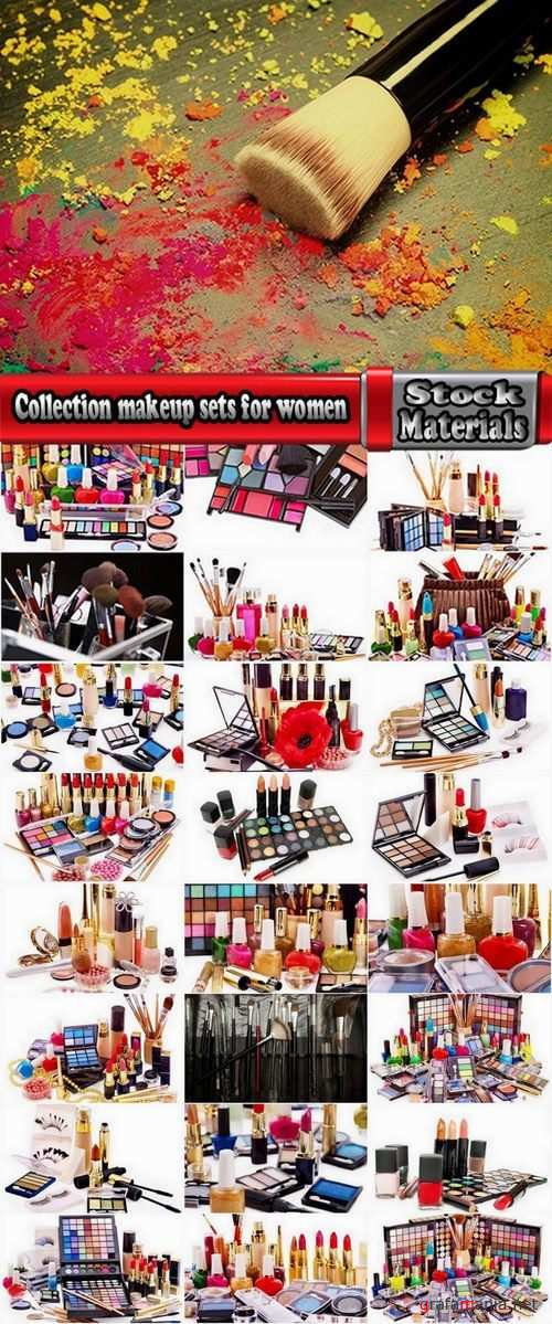 Collection makeup sets for women 25 UHQ Jpeg