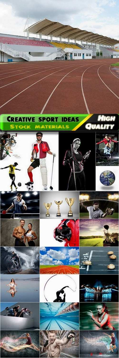 Sport backgrounds and creative sport ideas Stock images - 25 HQ Jpg