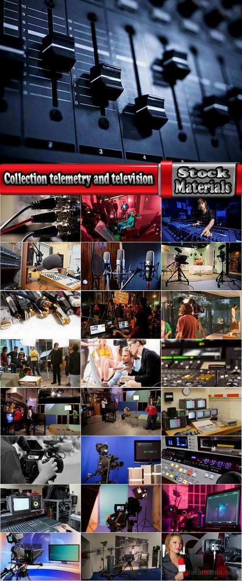 Collection telemetry and television 25 UHQ Jpeg