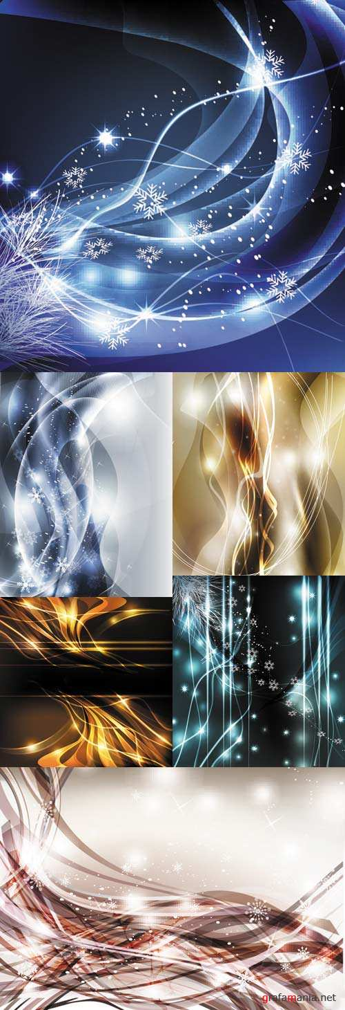 Beautiful dynamic background vector