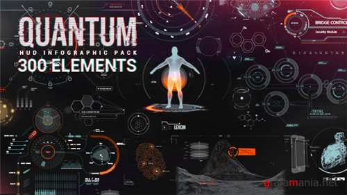 Quantum HUD Infographic - After Effects Project (Videohive)