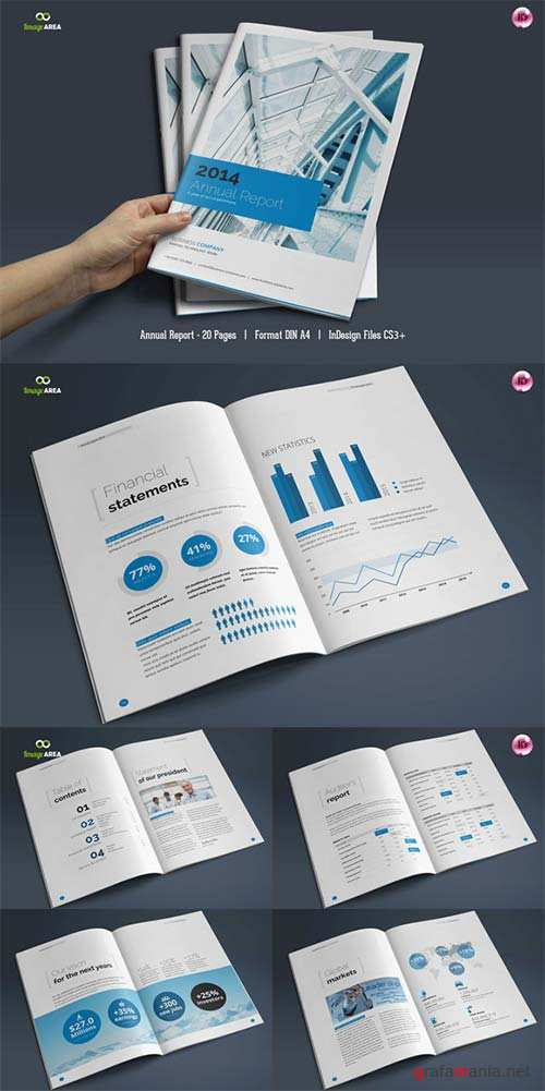 CreativeMarket 20 Page Annual Report