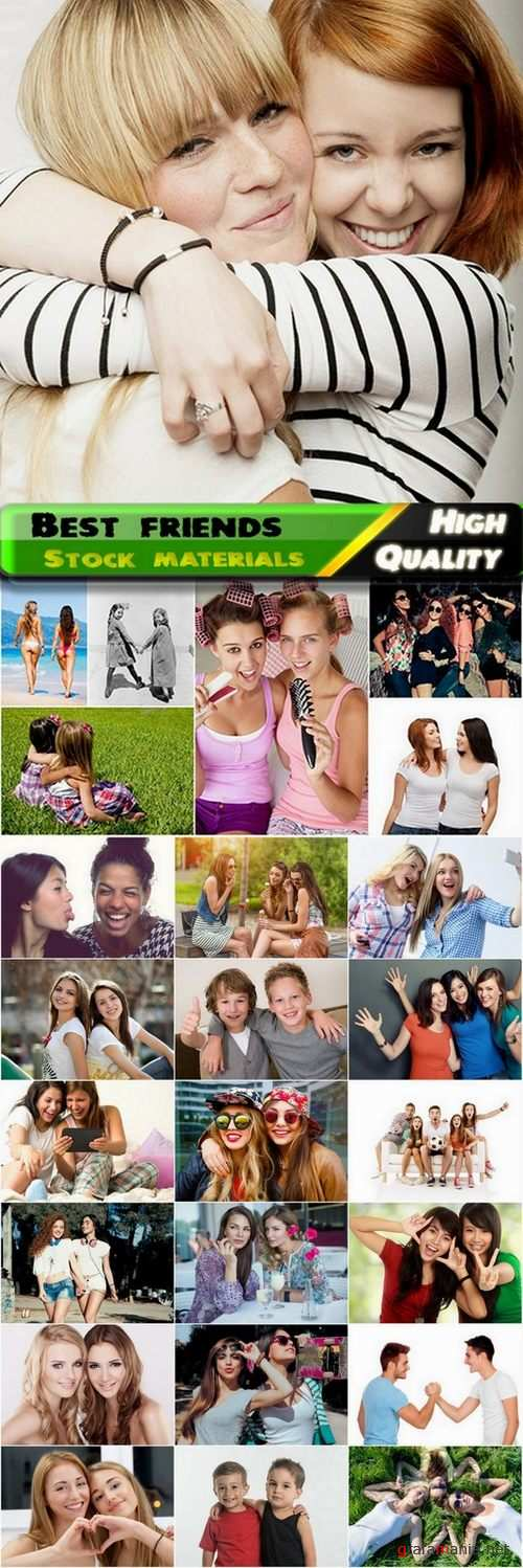 Best friends teenagers and kids Stock images - 25 HQ Jpg