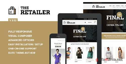 ThemeForest - The Retailer v2.1.2 - Responsive WordPress Theme