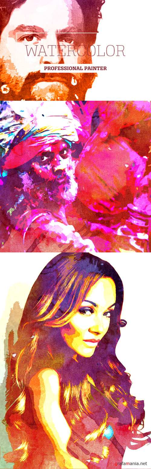 CreativeMarket - Watercolor Professional Painter 39446