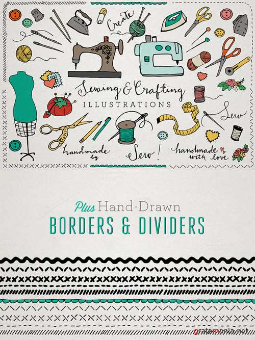Sewing and Crafting Ilustrations Pack