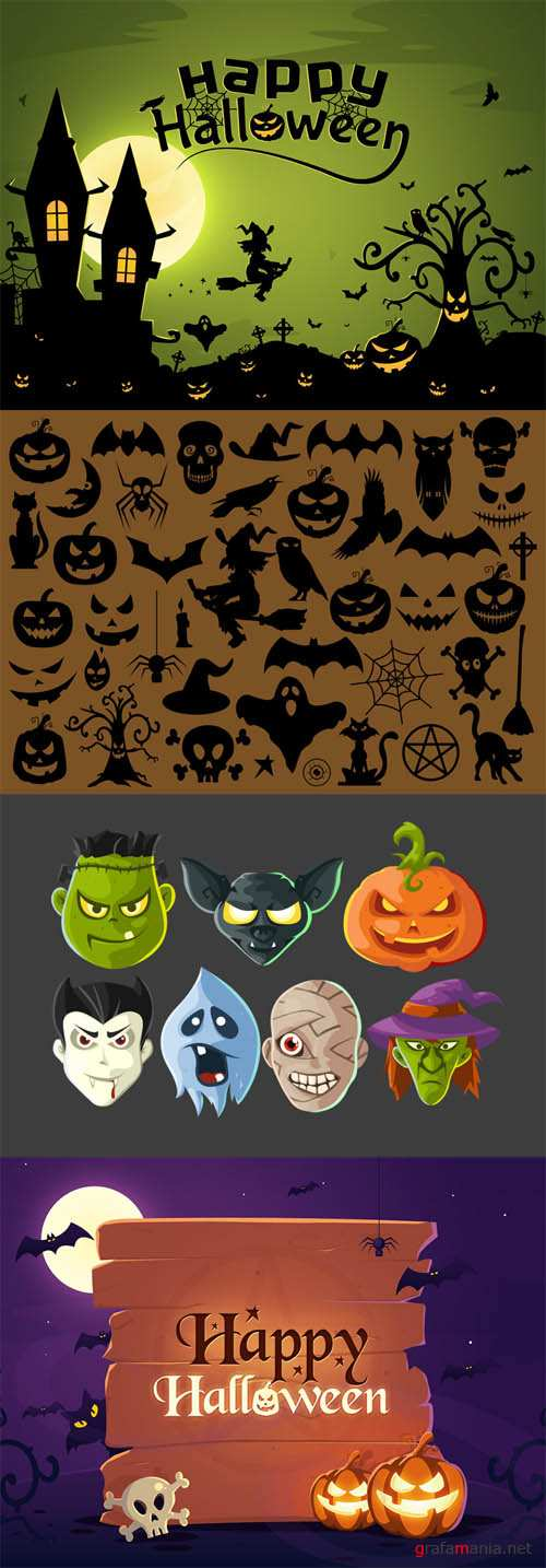 Halloween Illustrations and Icons