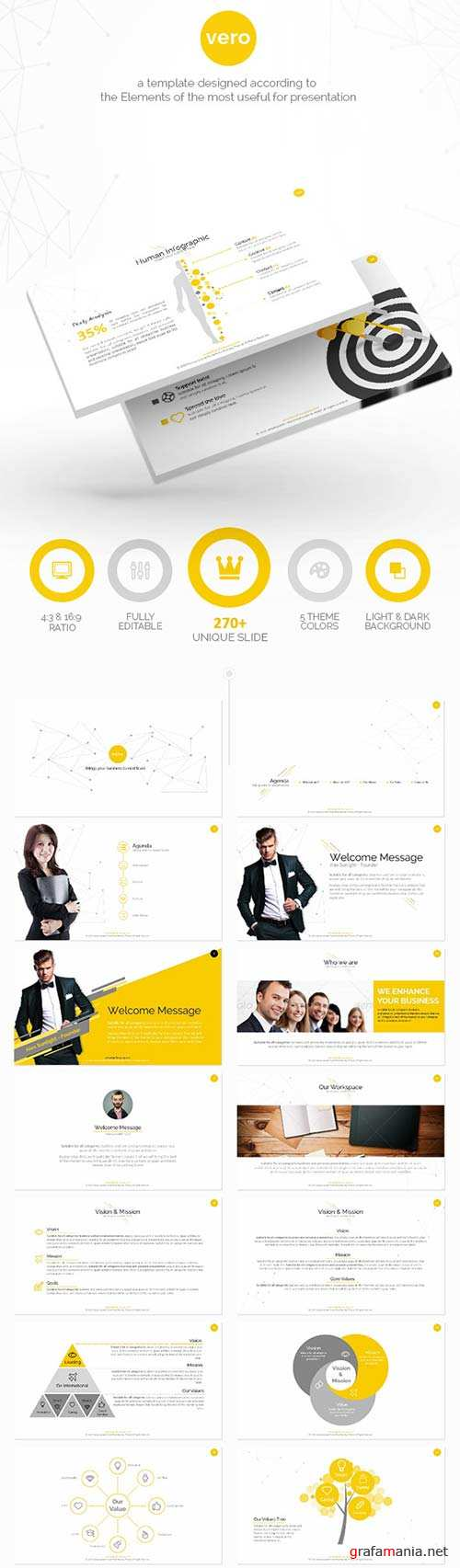 GraphicRiver Vero 1.2 - Connecting Your business