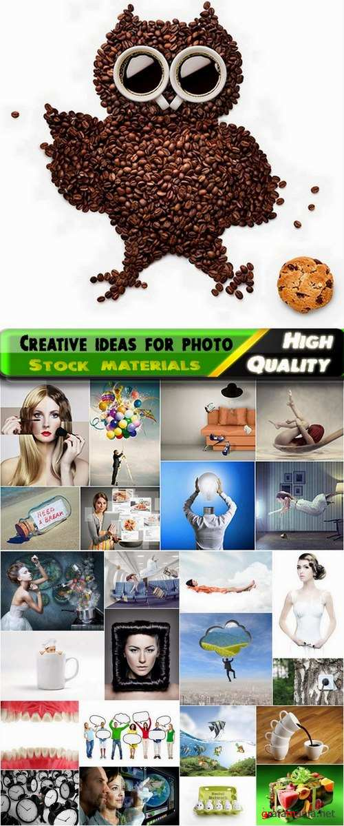 Creative ideas for photo Stock images #2 - 25 HQ Jpg