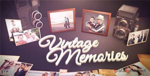 Vintage Unique Moments - After Effects Project (Videohive)